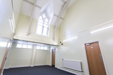 Frank Jordan Centre Hallway