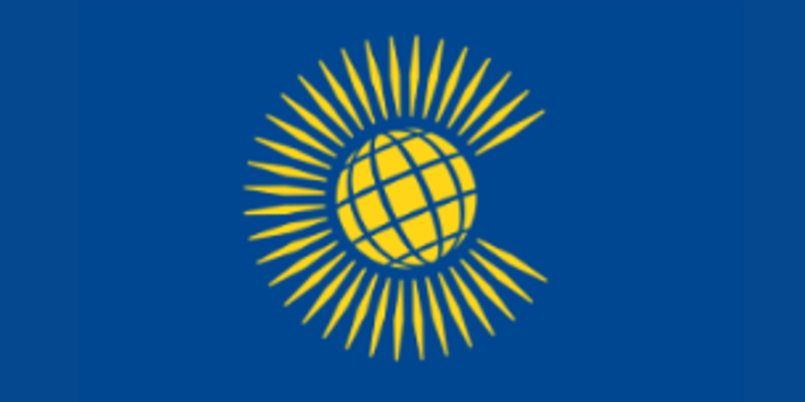 Flag of the Commonwealth of Nations (previously called the 'British Commonwealth' )