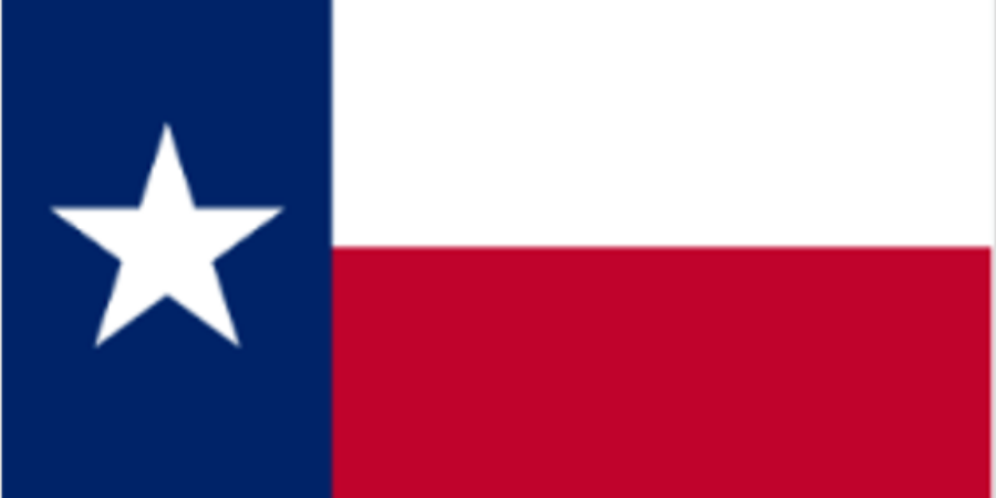 Flag of the State of Texas (USA) - the 'Lone Star State'Armed Forces Day flag