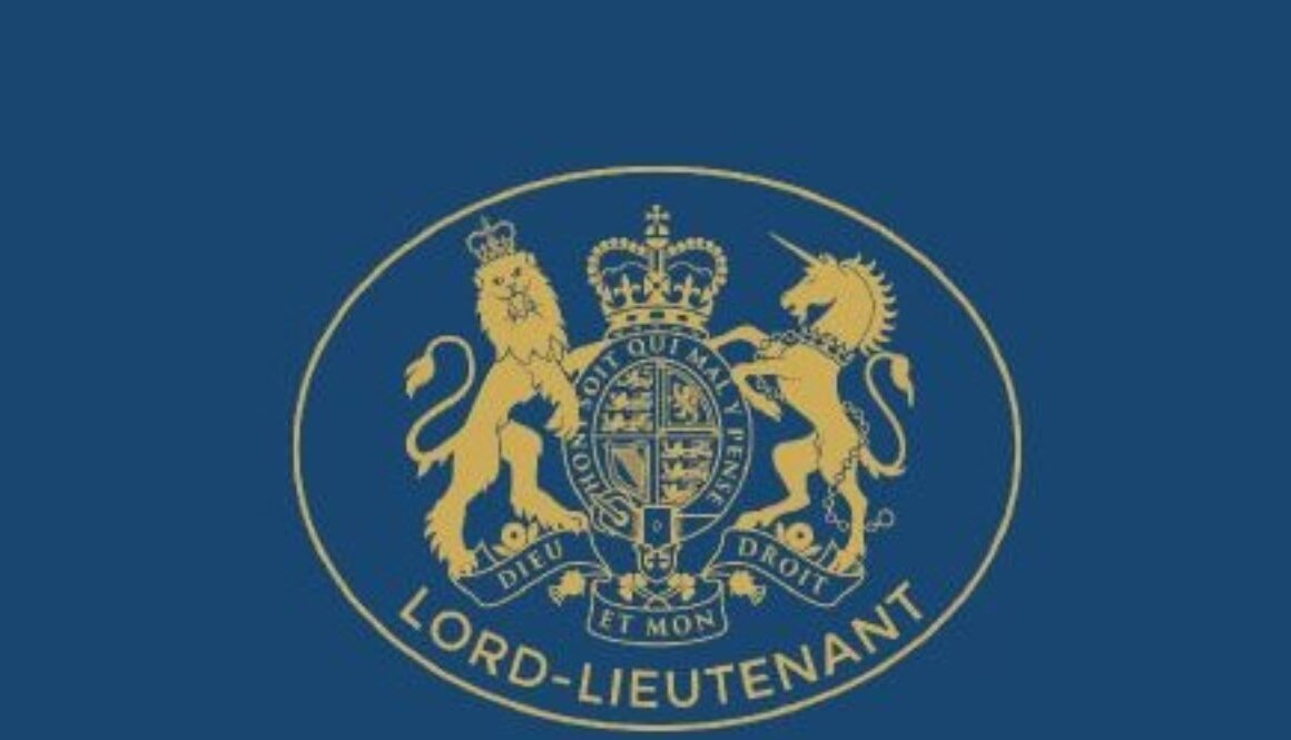 Logo of Her Majesty's Lord-Lieutenant of Staffordshire