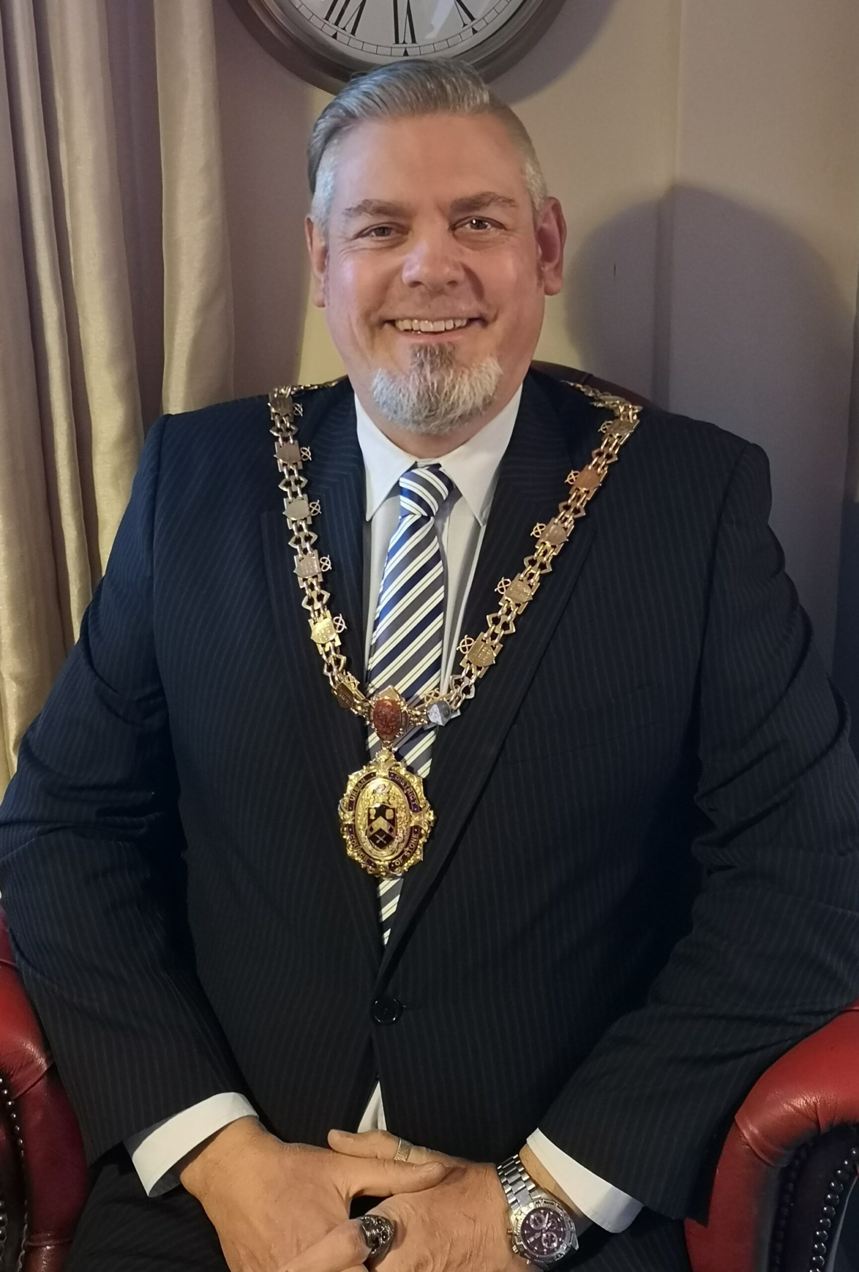 Jonathan Powell, Town Mayor